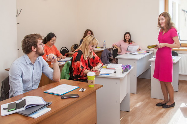 Russian language classes with flexible