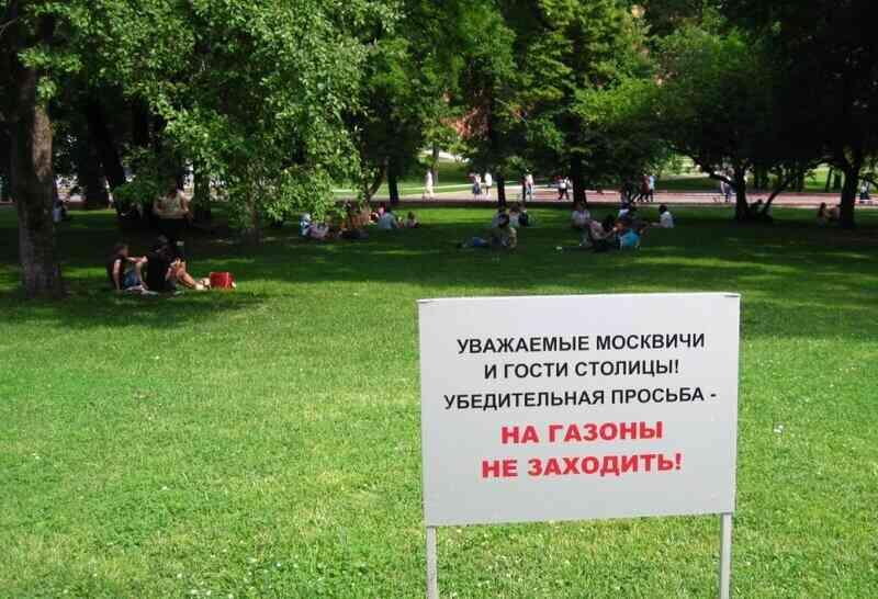 Grass Prohibition
